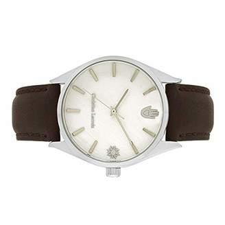 Christian Lacroix Mens Quartz Watch with Leather Strap CLMS1833
