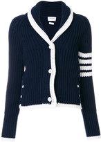 Thom Browne knit shawl cardigan