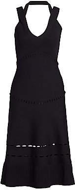 Alexis Women's Betti Crossover Strap Knit Midi Dress