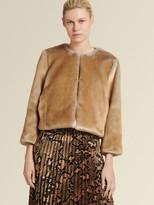 DKNY Faux Fur Jacket