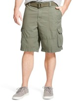 Mossimo Men's Belted Cargo Shorts Olive 33