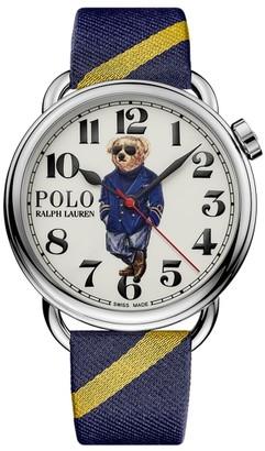 Ralph Lauren 42 MM Nautical Bear Watch