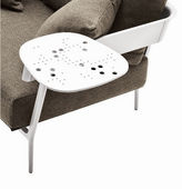 Janus et Cie Candido Outdoor Table Arm, White