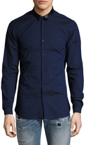 The Kooples Solid Buttoned Sportshirt