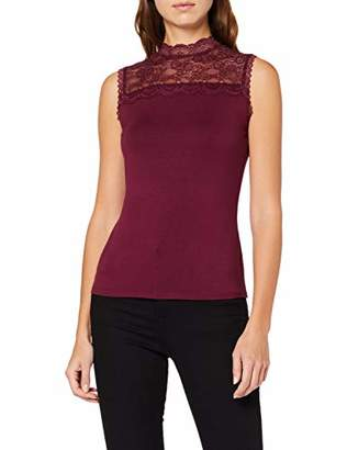 Comma Women's 81.9 1/3.3521 T-Shirt, (Night Blue 5976), 12 (Size: )