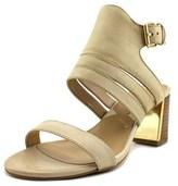 Adrienne Vittadini Pilly Open-toe Leather Slingback Heel.