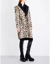 A.F.Vandevorst Mentalist leopard-print faux-fur coat