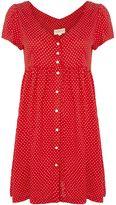 Denim & Supply Ralph Lauren Button Front Short Sleeve Casual Dress