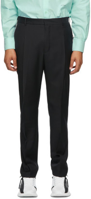 Givenchy Black Wool Travel Jogger Trousers