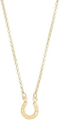 Harry Rocks Gold Horseshoe Short Necklace