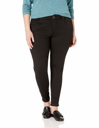 Democracy Women's Plus Size Ab Solution Booty Life Jegging
