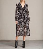Allsaints Nichola Kasuri Dress