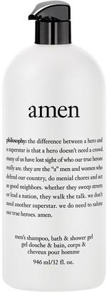 philosophy 32 oz amen men's shower gel Auto-Delivery