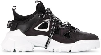 McQ Swallow Chunky Lace-Up Sneakers