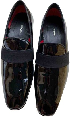 Tom Ford Black Patent leather Flats