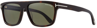 Tom Ford Men's Thick Square Acetate Sunglasses