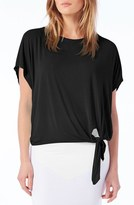 Michael Stars Women's Tie Hem Top