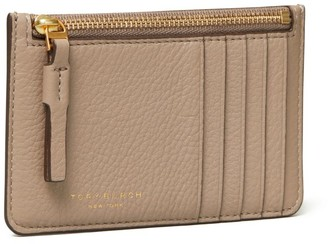 Tory Burch Perry Top-Zip Card Case