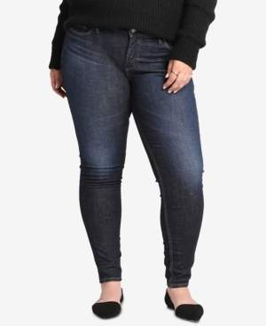 Silver Jeans Co. Plus Size Elyse Curvy-Fit Skinny Jeans