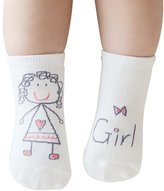 Special Gift For You.Daisy 6 Pairs M Asymmetric Cartoon Children's Kids Baby Non-Slip Socks