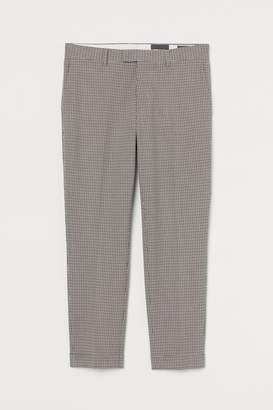 H&M Ankle-length trousers Slim Fit