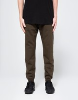 Reigning Champ Slim Sweatpant in Olive