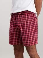 Tu Multicoloured Check Pure Cotton Pyjama Shorts 2 Pack