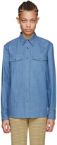 Miu Miu Blue Denim Shirt