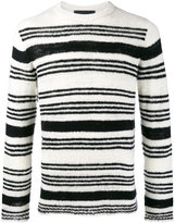 The Elder Statesman picasso orbit stripe jumper - men - Cashmere - S