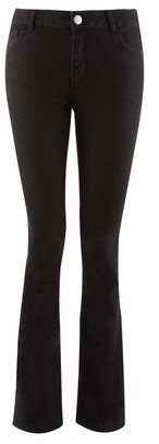 Dorothy Perkins Womens Black 'Ashley' Stretch Bootcut Jeans, Black