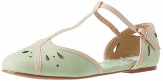 Bettie Page Women's Pinup Retro Vintage Mary Jane Flat