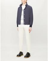Brunello Cucinelli Hooded funnel-neck X blouson jacket