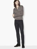John Varvatos Resin Coated Chelsea Jean