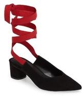 Topshop Women's Jemima Ankle Tie Pumps