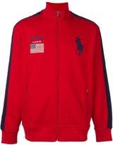 Polo Ralph Lauren embroidered logo zipped sweatshirt
