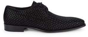 Mezlan Textured Leather Derbys