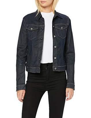 Replay Women's Wa7651.000.661 403 Denim Jacket, (Dark Blue 7), Medium