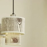 Lights Up! Deco 1 - Light Single Tiered Pendant Shade Color: Anna Green