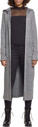 Urban Classics Women's Ladies Terry Long Cardigan Sweater