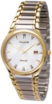Accurist Men's Quartz Watch with Silver Dial Analogue Display and Multicolour Stainless Steel Bracelet MB865DIA