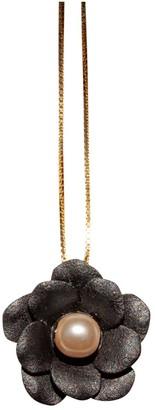 Non Signã© / Unsigned Motifs Floraux Gold Gold plated Necklaces