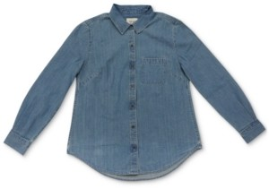 Style&Co. Style & Co Petite Boyfriend Shirt, Created For Macy's