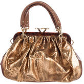 Marc Jacobs Python Stam Bag