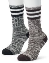 Champion Women's 2-pk. Outdoor Performance Rugby Stripe Crew Socks