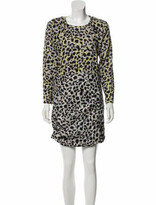 Thumbnail for your product : CARMEN MARCH Long Sleeve Mini Dress w/ Tags Grey