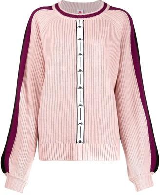 Kappa logo stripe jumper