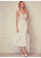Free People Womens LE GIANNAS WHITE DRESS