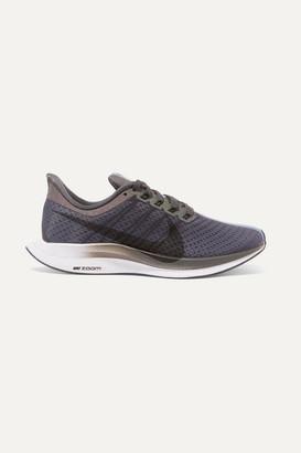Nike Zoom Pegasus Turbo Be True Mesh Sneakers - Gray