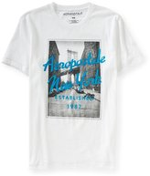 Aeropostale Mens Brooklyn Bridge Graphic T-Shirt Xs