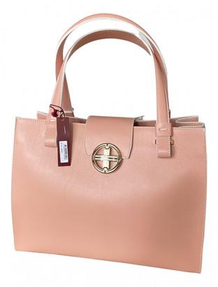 Davidoff Pink Leather Handbags